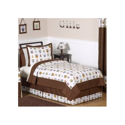 Night Owl 4 Piece Twin Comforter Set