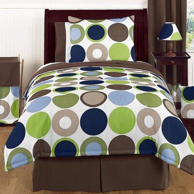 Designer Dot 3 Piece Comforter Set
