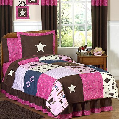 Cowgirl 3 Piece Full/Queen Comforter Set
