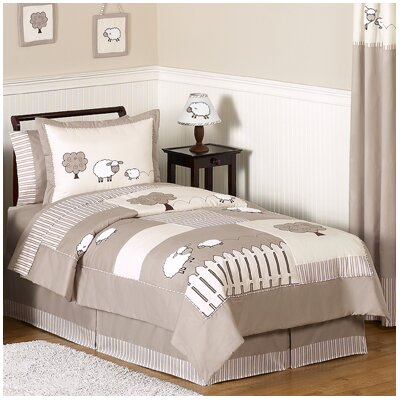 Little Lamb 4 Piece Twin Comforter Set