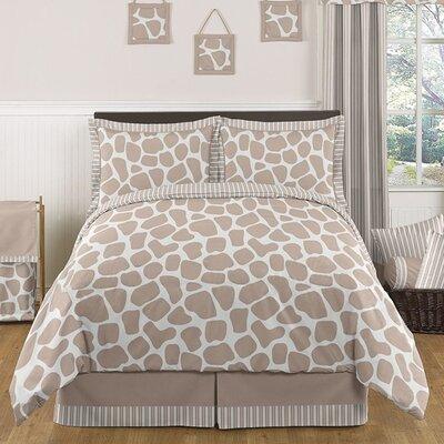 Giraffe 3 Piece Comforter Set