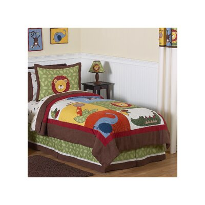 Jungle Time 3 Piece Full/Queen Comforter Set