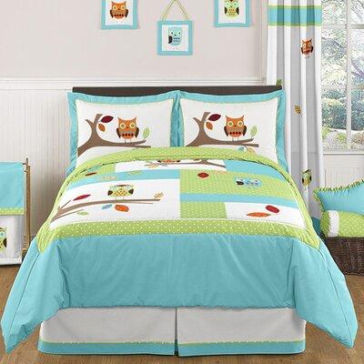 Hooty 3 Piece Comforter Set