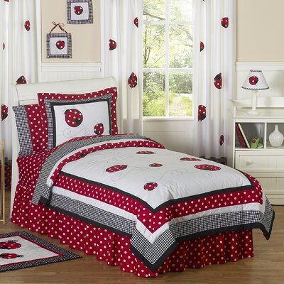 Little Ladybug 4 Piece Twin Comforter Set