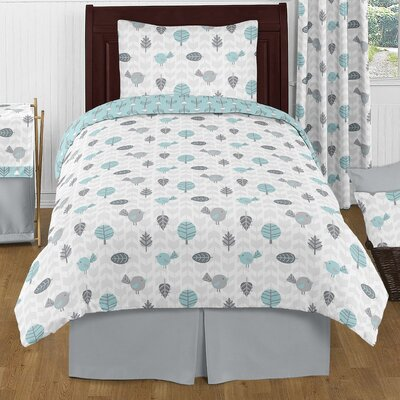Earth and Sky 4 Piece Twin Comforter Set