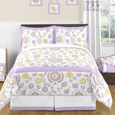 Suzanna 4 Piece Twin Comforter Set
