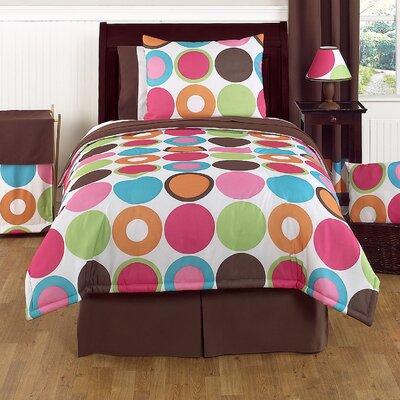 Deco Dot 3 Piece Full/Queen Comforter Set