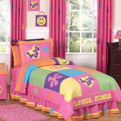 Groovy Comforter Set Size: Twin