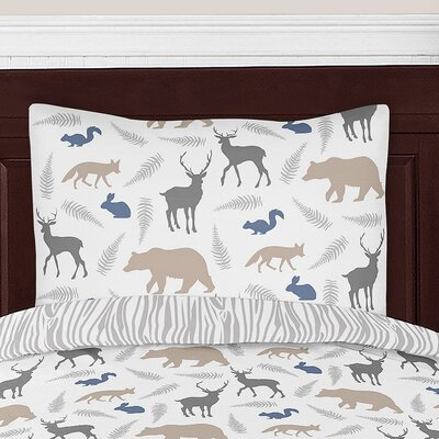Woodland Animals Standard Pillow Sham