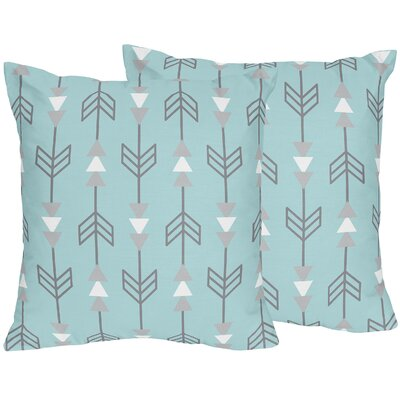 Earth and Sky Arrow Print Throw Pillow