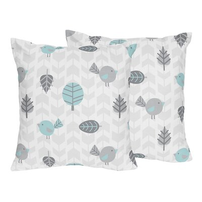 Earth and Sky Bird Print Throw Pillow