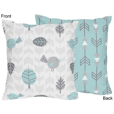 Earth and Sky Throw Pillow