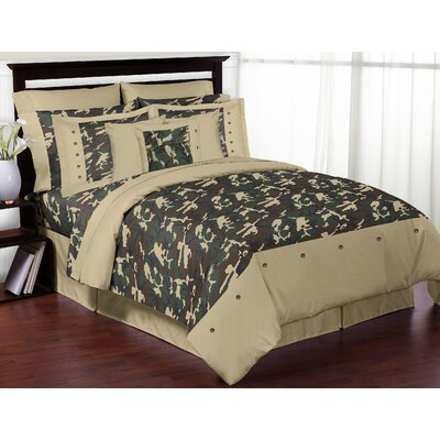 Camo Comforter Set Size: Full / Queen