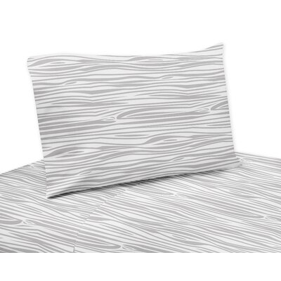 Stag 4 Piece Wood Grain Sheet Set
