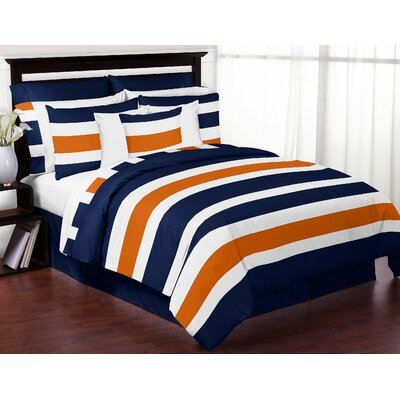 Stripe Comforter Set Size: Twin