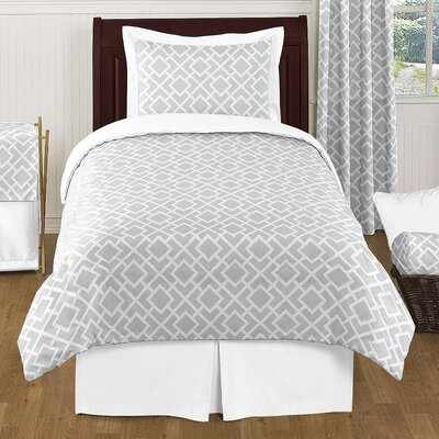 Diamond 4 Piece Twin Comforter Set