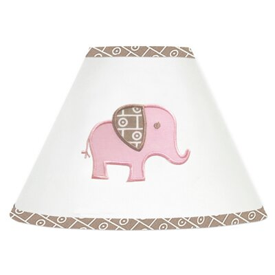 Elephant 7 Cotton Empire Lamp Shade