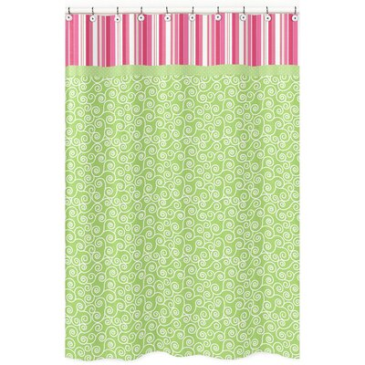 Olivia Cotton Shower Curtain