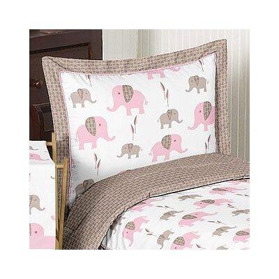 Elephant Pink Standard Pillow Sham