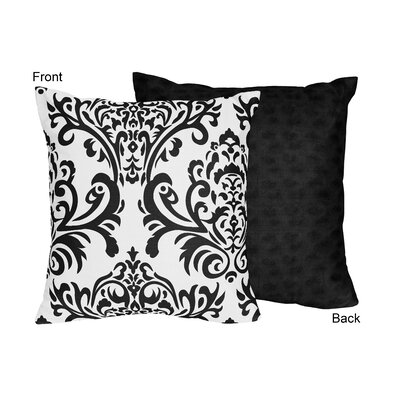 Isabella Throw Pillow Color: Black