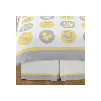 Mod Garden Queen Bed Skirt