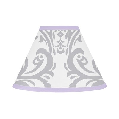 Elizabeth 10 Cotton Empire Lamp Shade Color: Purple