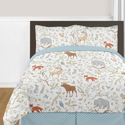 Woodland Toile Comforter Collection