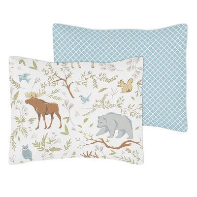 Woodland Toile Standard Pillow Sham