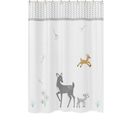 Forest Deer Shower Curtain