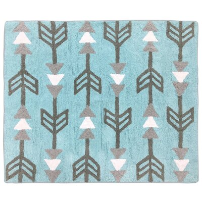 Earth and Sky Hand-Tufted Blue/Gray/White Area Rug