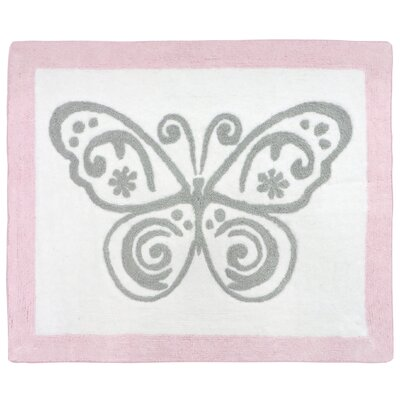 Alexa Hand-Tufted Pink/Gray/White Area Rug