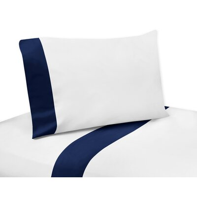 Woodsy Sheet Set Color: Navy Blue, Size: Twin