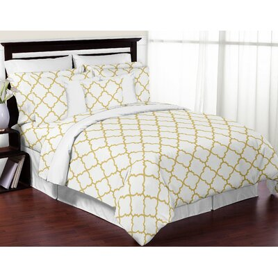 Trellis 4 Piece Sheet Set Size: Twin