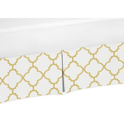 Trellis Bed Skirt Size: Twin