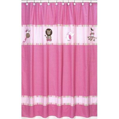 Jungle Friends Shower Curtain