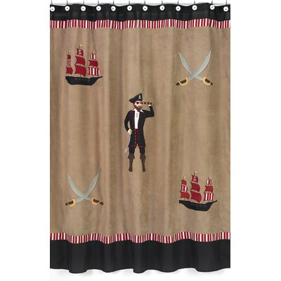 Pirate Treasure Cove Shower Curtain