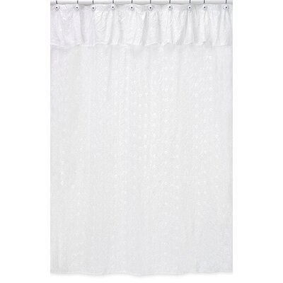 Eyelet Cotton Shower Curtain