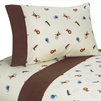 Jungle Time Sheet Set Size: Queen