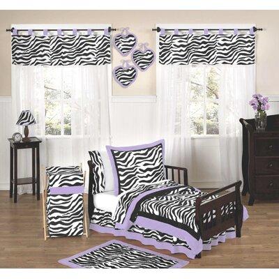 Jojo Purple Funky Zebra Decorating Kids Rooms