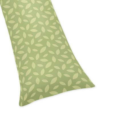 Jungle Time Leaf Body Pillow Case