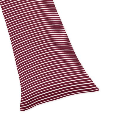 Vintage Aviator Stripe Body Pillow Case