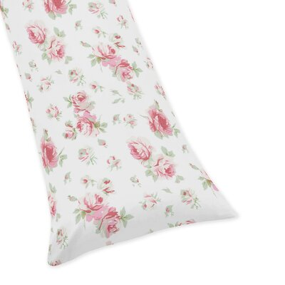Rileys Roses Floral Body Pillow Case