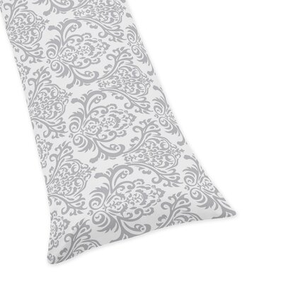 Skylar Damask Body Pillow Case