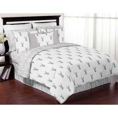 Stag 3 Piece Comforter Set