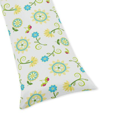 Layla Floral Body Pillow Case