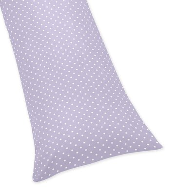 Sloane Polka Dot Body Pillow Case