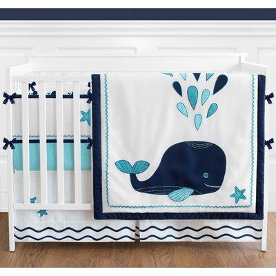 Whale 12 Piece Crib Bedding Set