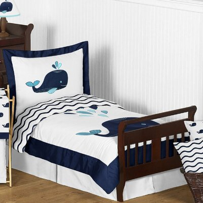 Whale 5 Piece Comforter Set