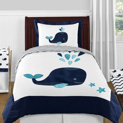 Whale 4 Piece Comforter Set