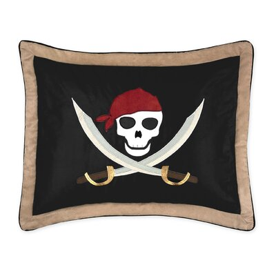Pirate Treasure Cove Sham